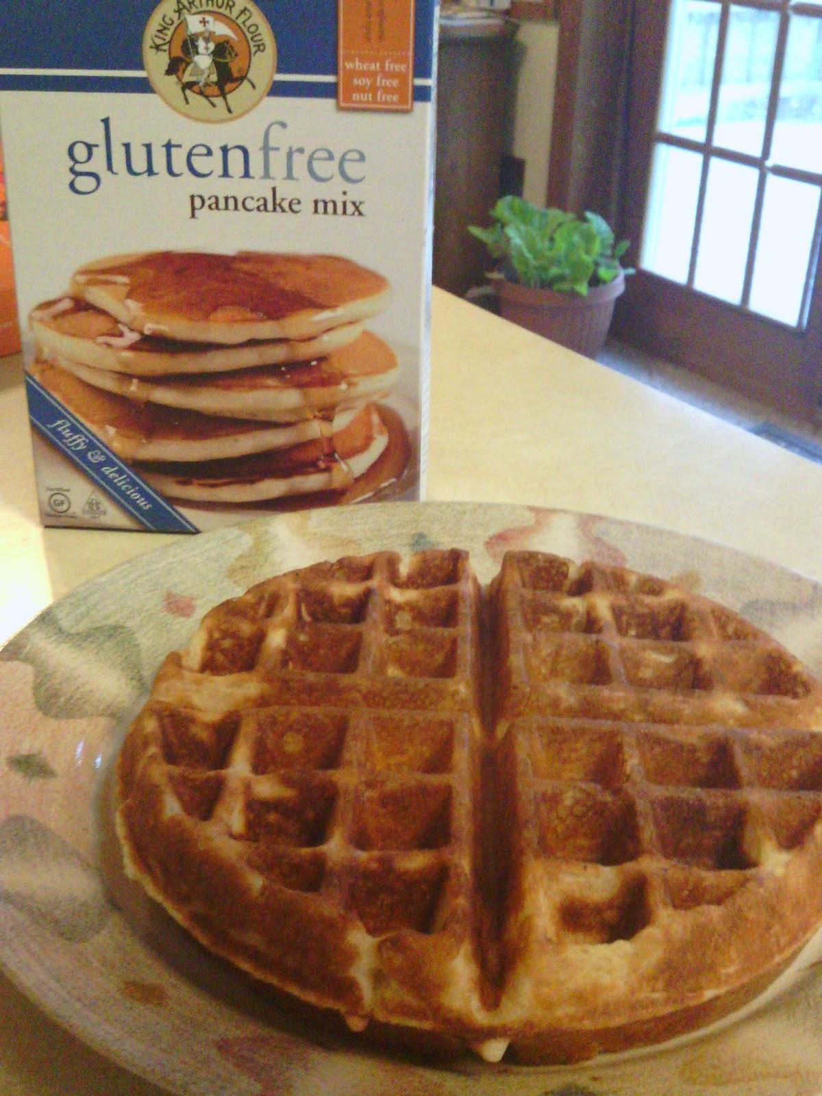 King arthur gluten free waffle recipe