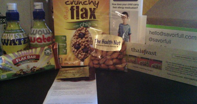 January 2013 Savorfull box