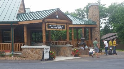 Gluten Free Camp Welcome center at YMCA Camp Manitou-Lin