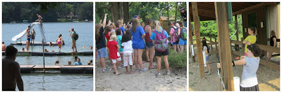 Gluten Free Camp Outdoor activities at YMCA Manitou-Lin in Michigan