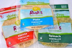 Rudi's Gluten-Free Tortillas & 400 Calorie Burrito Recipe