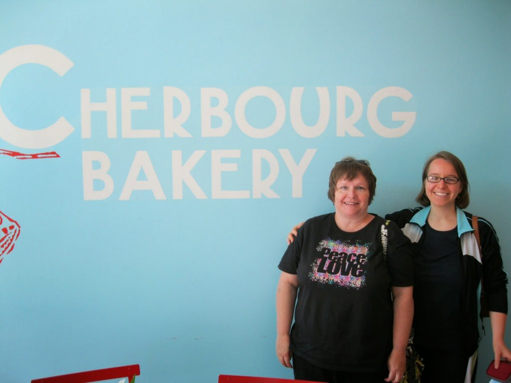 Cherbourg Bakery Logo on Wall