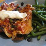 Gluten Free Enchiladas – Under 400 Calories
