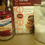 Gluten-Free Chebe Cherry Hand Pies