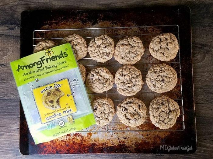 Among Friends Baking Mixes Oatmeal Chocolate Chips