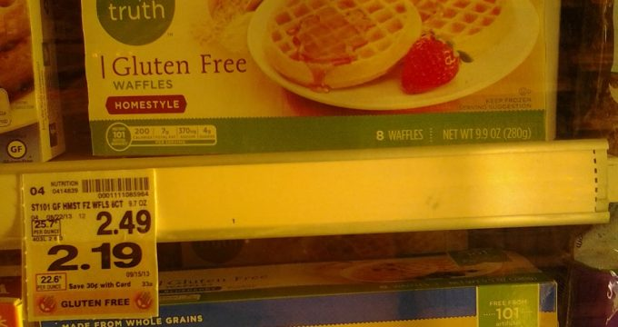 Kroger goes gluten free