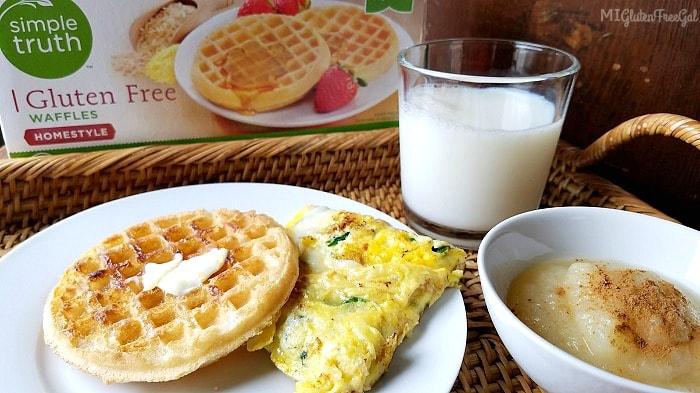 Kroger Gluten-Free Waffles - The Simple Truth - MI Gluten Free Gal