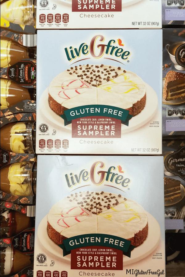 Aldi Livegfree Special Buy Gluten Free Cheesecake Sampler 1 Mi Gluten Free Gal