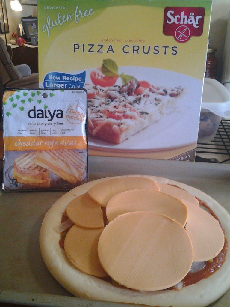 Schar gluten free pizza crusts dairy free pizza