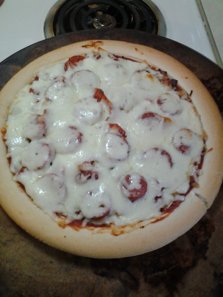 schar gluten free pizza crusts meat lovers pizza