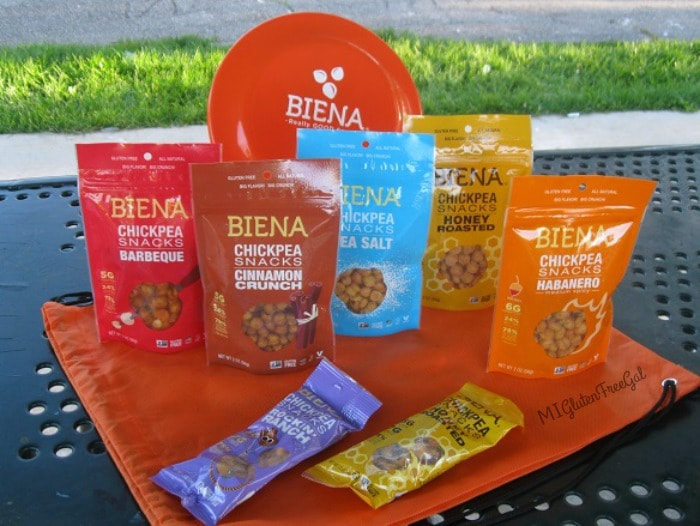 Enter to win an assortment of Biena Chickpeas for yourself!