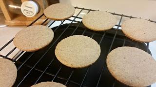 Gluten-Free Gingerbread Whoopie Pies baked
