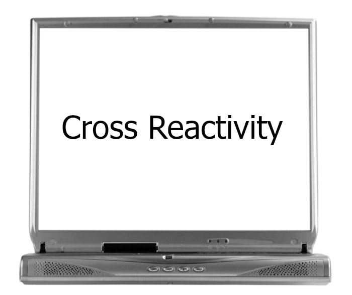 Cross-reactivity on screen