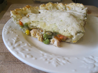 Gluten Free Chicken Pot Pie made with Full flavor Foods Cream of Chicken Soup
