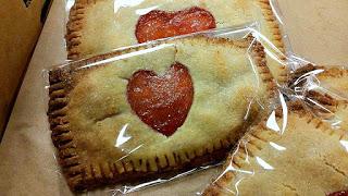 Gluten Free Rox Heart Tarts Up close