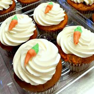 Kind Crumbs Gluten Free Carrot Cupcakes