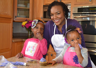 Sweet Encounter Bakery Nikki Thompson with family