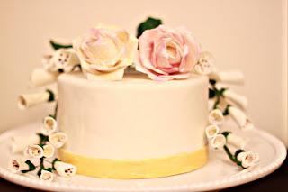 Foxglove Cake Creations Gluten Free Wedding Cake