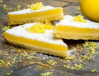 No More Belly Aching Lemon Bars