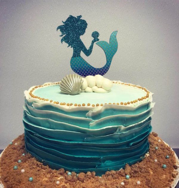 Michigan Gluten Free Bakers Third Coast Bakery Mermaid Cake 1