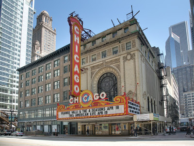 """Chase Auditorium in the Chicago Theater is where """"Wait Wait Down Tell Me"""" is taped."""