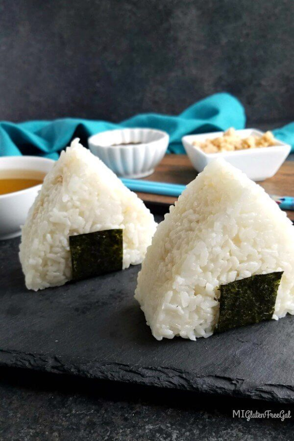 Onigiri: Japanese Alternative to Sandwiches - MI Gluten Free Gal