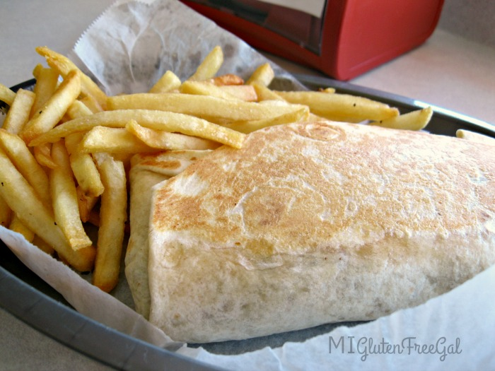 Gluten Reaction Flour Tortilla Burrito