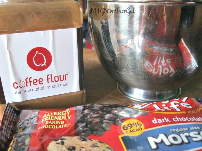 Coffee Flour Chocolate Chip Cookie Ingredients