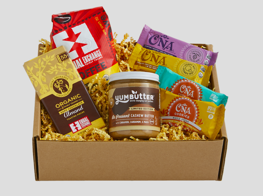 Yumbutter Secret to Living is Giving holiday-box-front