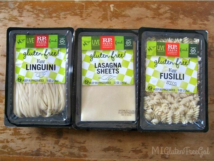 Gluten-Free butternut squash lasagna RP pasta noodles