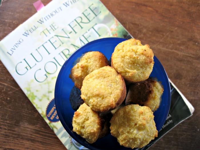 easy gluten-free cornbread mini muffins