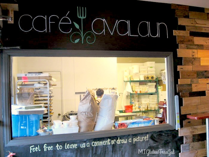 cafe avalaun baking window