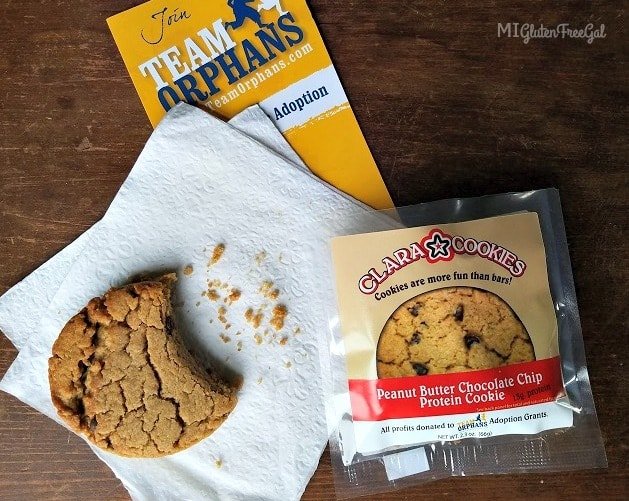 Clara Cookies proceeds go to Team Orphans charity