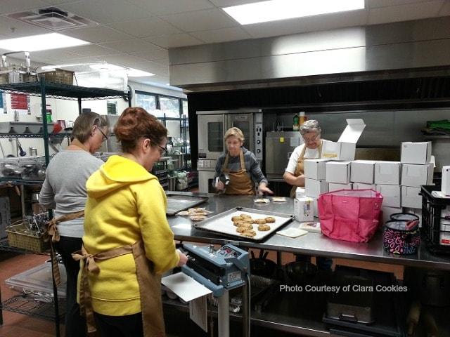 Clara Cookies is a volunteer run business
