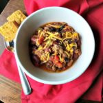 Cozy Comfort Chili – Gluten Free and Under 400 Calories
