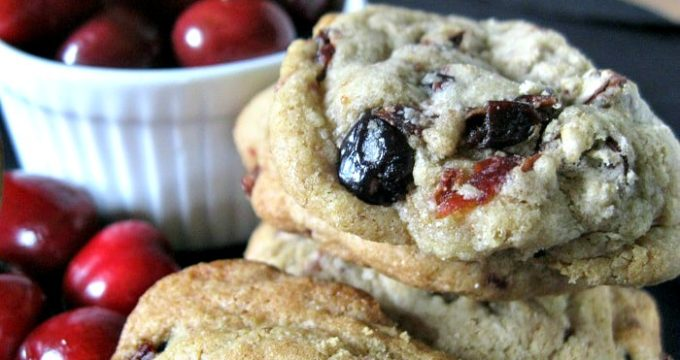Gluten-Free Cherry Chocolate Chunk Cookies