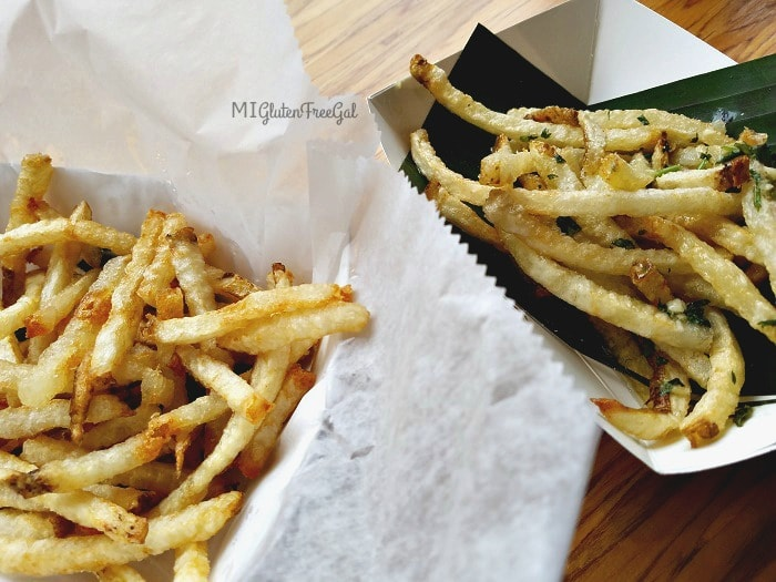 Frita Batidos gluten-free fries are made in a fresh pot of oil