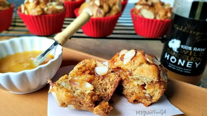 Earth Day Honey Sweetened Gluten-Free Muffins MI Gluten Free Gal