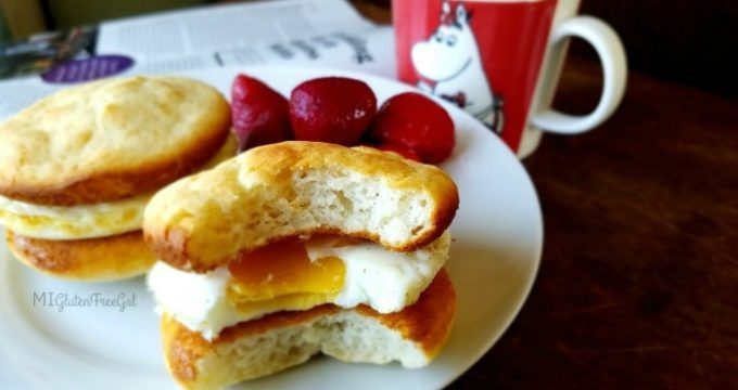 Easiest Gluten-Free Breakfast Sandwich Recipe Ever