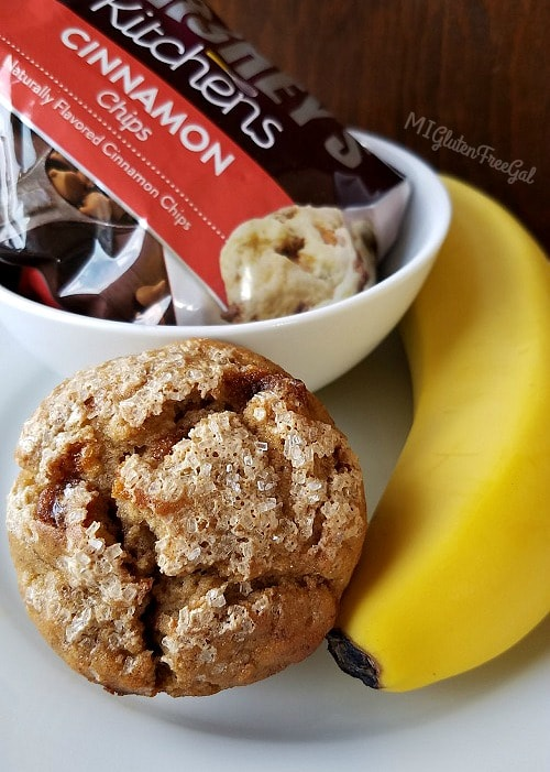 The Hershey's cinnamon chips in my gluten-free banana cinnamon chip muffins are tested to be under 20 ppm