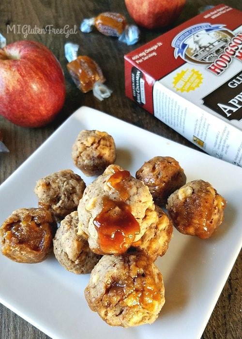 AGF Fall Favorites Caramel Apple Bites