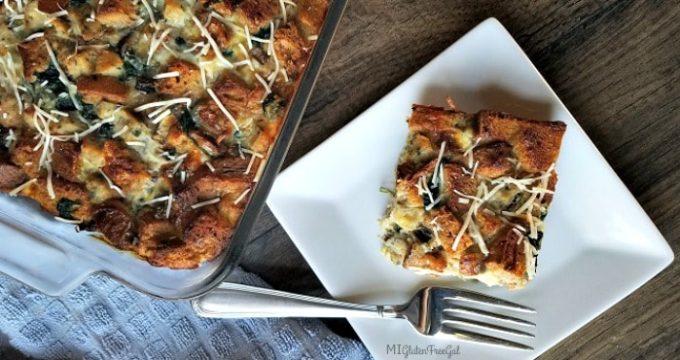 Gluten-Free Savory Breakfast Strata
