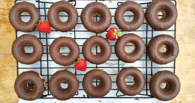 Two Ingredient Gluten-Free Donuts