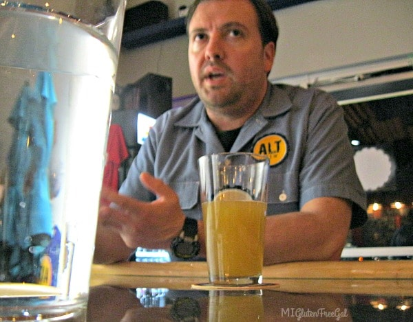Trevor Easton is the owner of Alt Brew in Madison Wisconsin