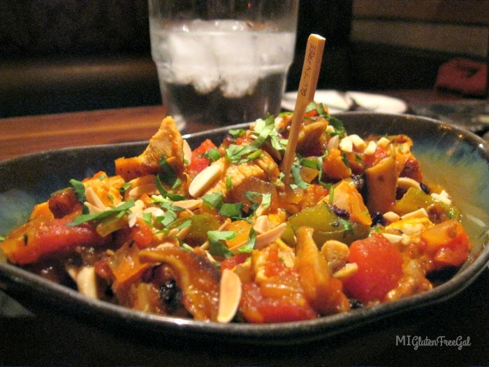 The Country Chicken dish at Twigs Tavern and Grille reminds me more ofa paella than a curry