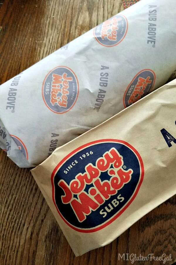 Your Jersey Mike's gluten free Sub should be made on a clean parchment paper to prevent cross contact.