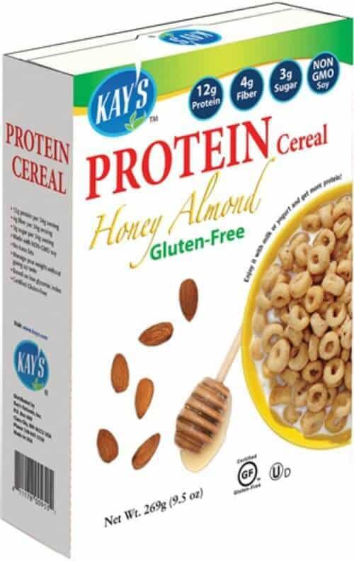 gluten free alternatives to Cheerios Kay's Naturals Protein Cereal