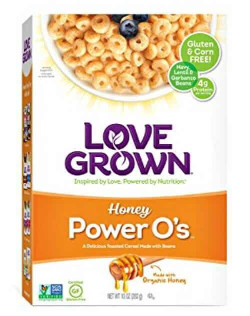 gluten free alternatives to Cheeriosl Love Grown Power O's