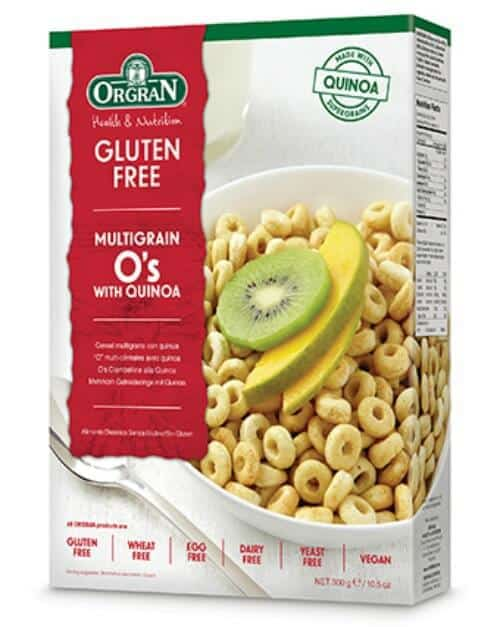 gluten free alternatives to Cheerios Orgran Multigrain O's