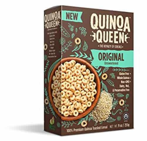 gluten free alternatives to Cheerios Quinoa Queen